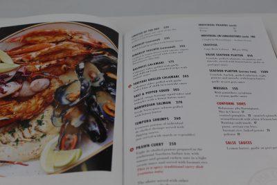 menu printing